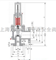 供應MWA42C磅級美標波紋管安全閥上海茂工