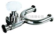 进口卫生级U型三通隔膜阀