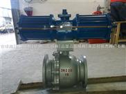 Q641Y-16C-DN200气动硬密封球阀 硬密封气动球阀 气动高温球阀