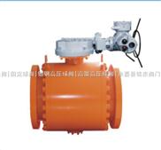 电动锻钢球阀+A105电动固定球阀+Q947N-900LB电动锻钢固定球阀+电动高压锻钢球阀