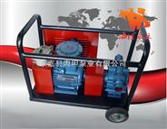 KYB型移动式自吸滑板泵,自吸滑板泵,自吸油泵,移动式滑板泵