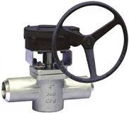 美标焊接式套式旋塞阀