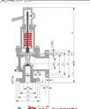 MWA44C安全閥 美標波紋管安全閥