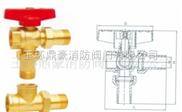 鍛壓黃銅鋁暖氣三通球閥