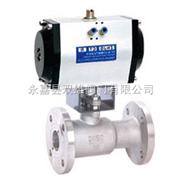 QJ641PPL高溫氣動球閥