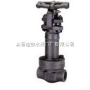 鍛鋼焊接波紋管截止閥WJ61Y