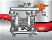 隔膜泵參數,隔膜泵技術,QBY系列鋁合金氣動隔膜泵