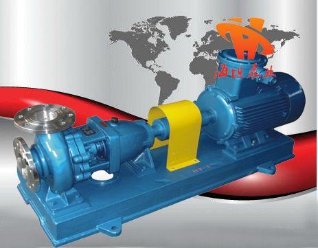 化工泵原理,化工泵結構,IH型不銹鋼化工離心泵