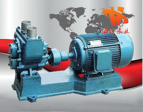 油泵结构、油泵原理、YHCB型圆弧齿轮油泵