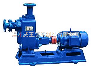ZW型自吸式無堵塞排污泵生產廠家,價格