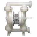 氟塑料气动隔膜泵,温州氟塑料气动隔膜泵QBY型