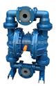 QBY襯氟氣動隔膜泵生產廠家,價格,結構圖