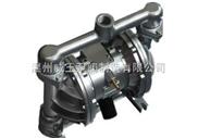 QBY型不锈钢气动隔膜泵生产厂家,价格,结构图