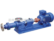 I-1B型不锈钢单螺杆浓浆泵生产厂家,价格