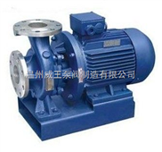 ISWH型臥式單級不銹鋼管道離心泵