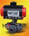 气动UPVC三通球阀:VT2DDU73G