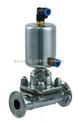 不锈钢卫生级气动隔膜阀 卫生级隔膜阀
