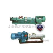 乌兰浩特市单螺杆泵(带电磁调速电机)G型螺杆泵