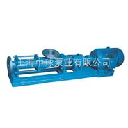 单螺杆泵|G35-1螺杆泵价格|FG35-1不锈钢螺杆泵尺寸