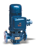 IHGB單級單吸不銹鋼防爆立式管道泵