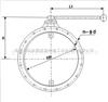 STF-I圆形手动风量调节阀-擒工冶金阀门